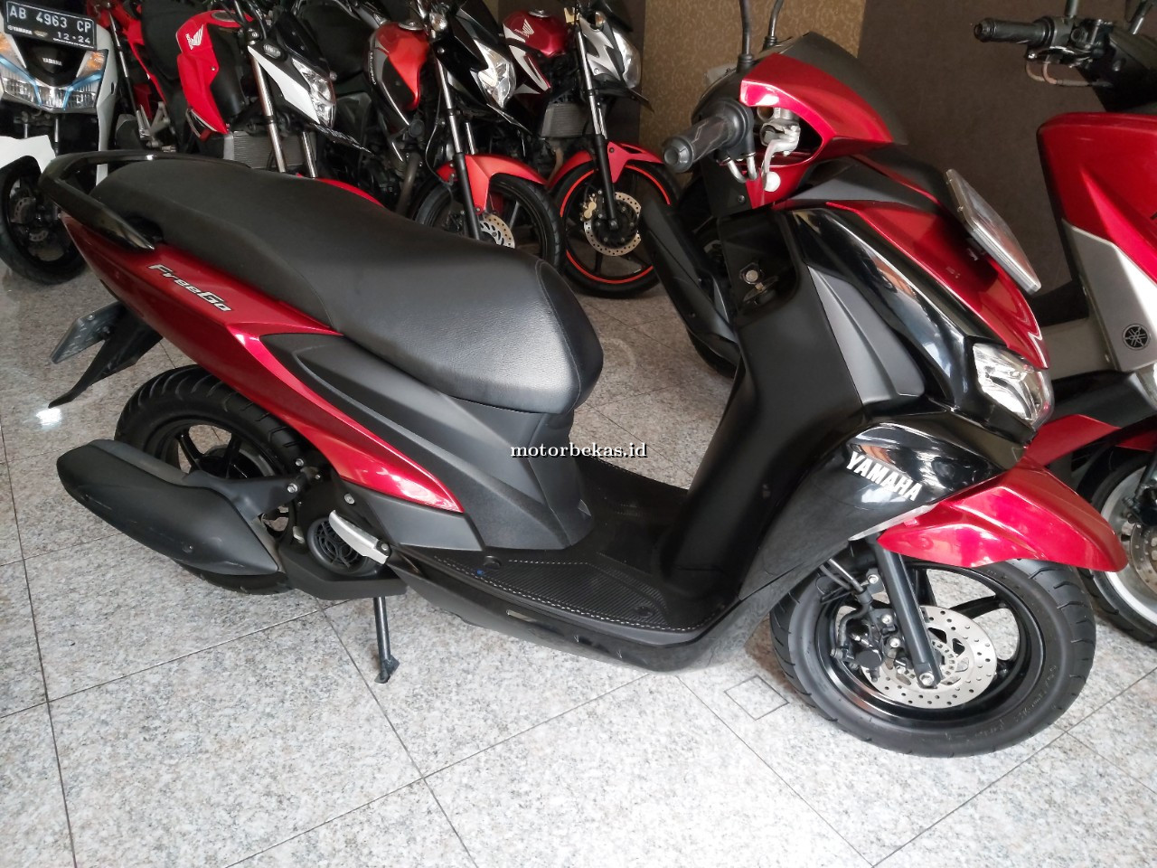 YAMAHA FREE GO  67 motorbekas.id