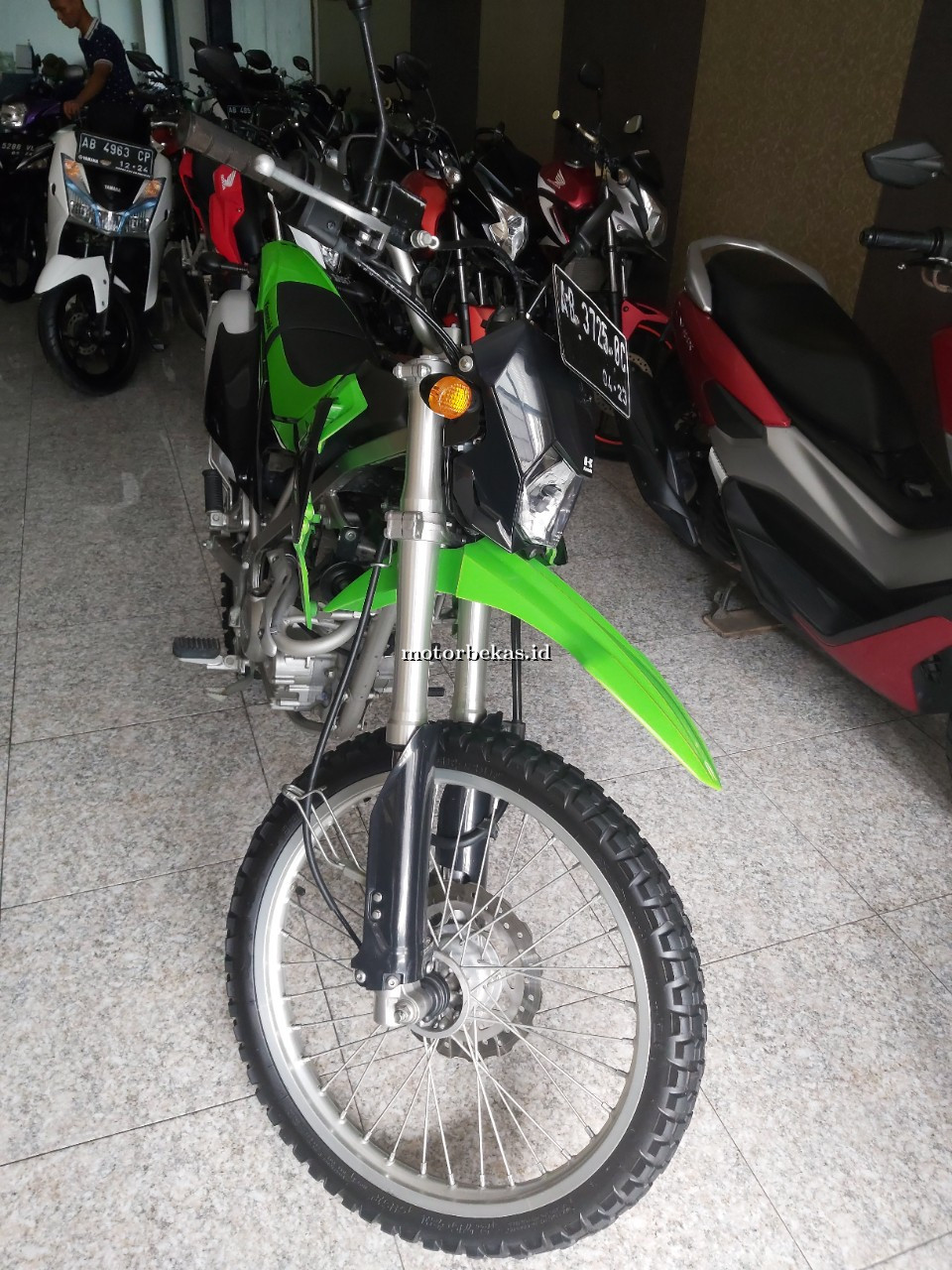 KAWASAKI KLX 150 BF  73 motorbekas.id