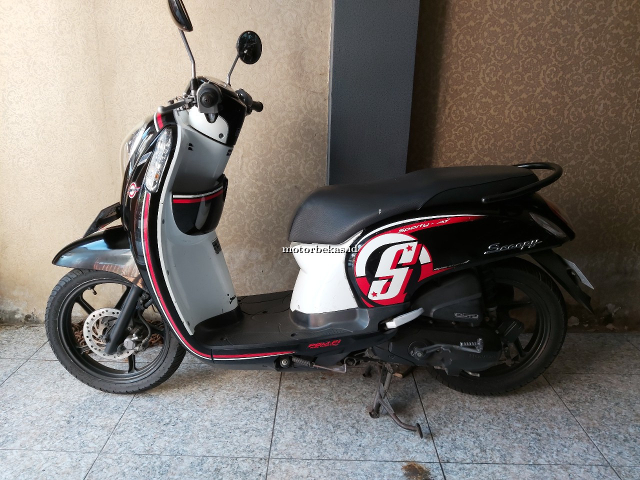 HONDA SCOOPY SPORTY FI 6 motorbekas.id