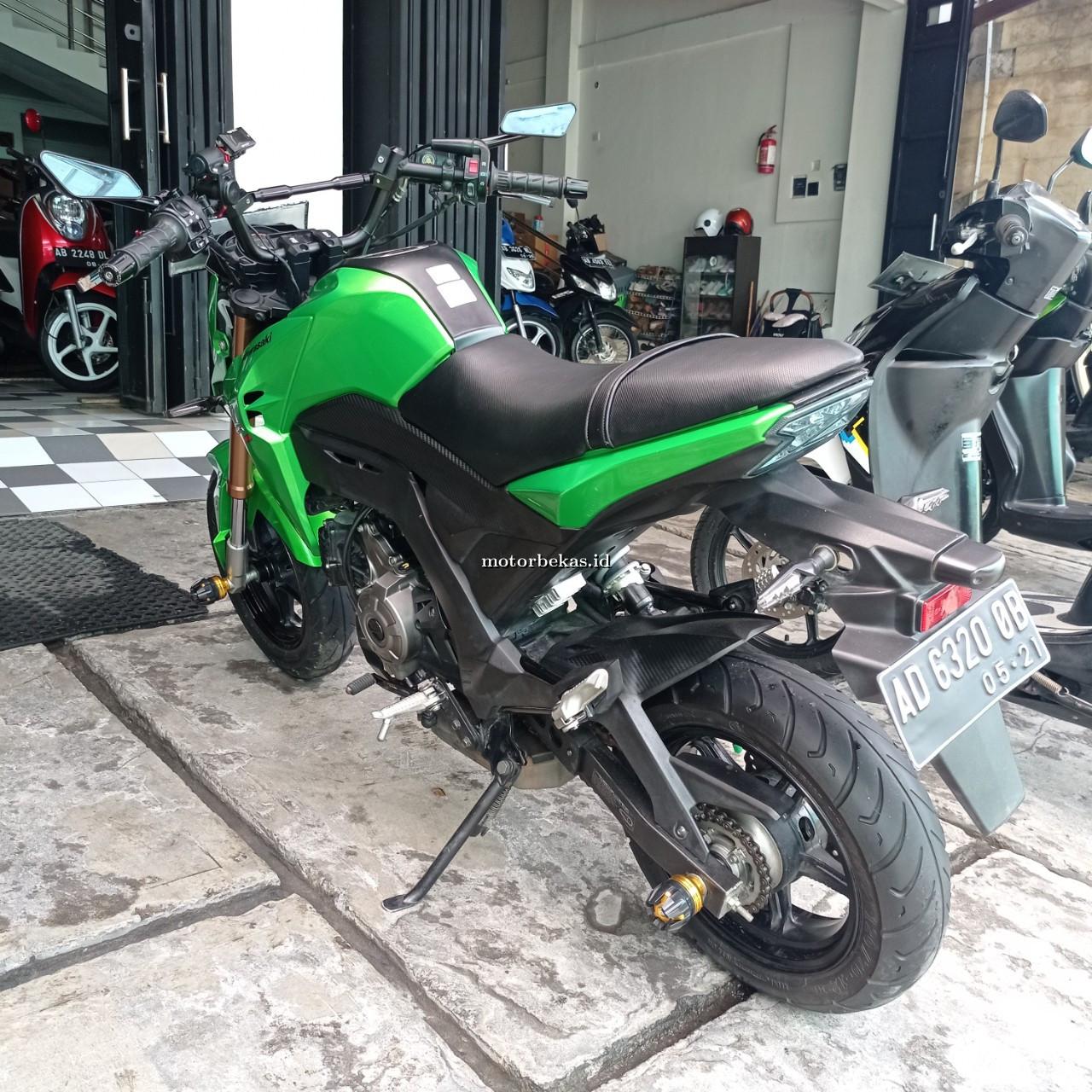 KAWASAKI D-TRACKER  120 motorbekas.id