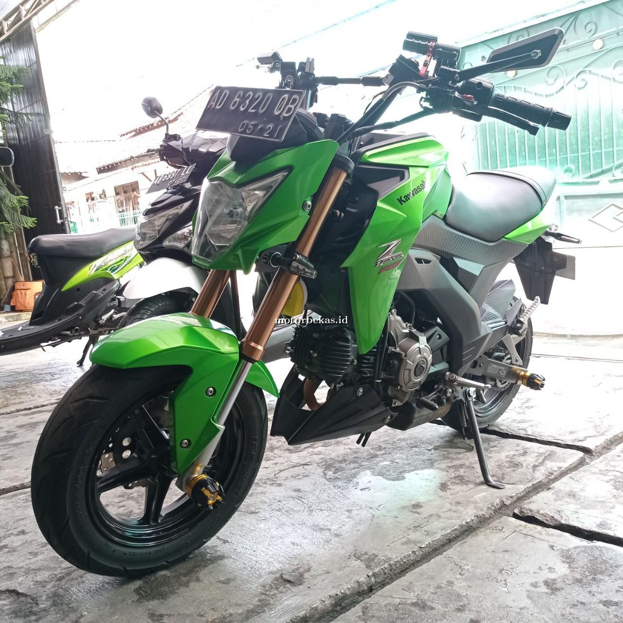 KAWASAKI D-TRACKER  123 motorbekas.id