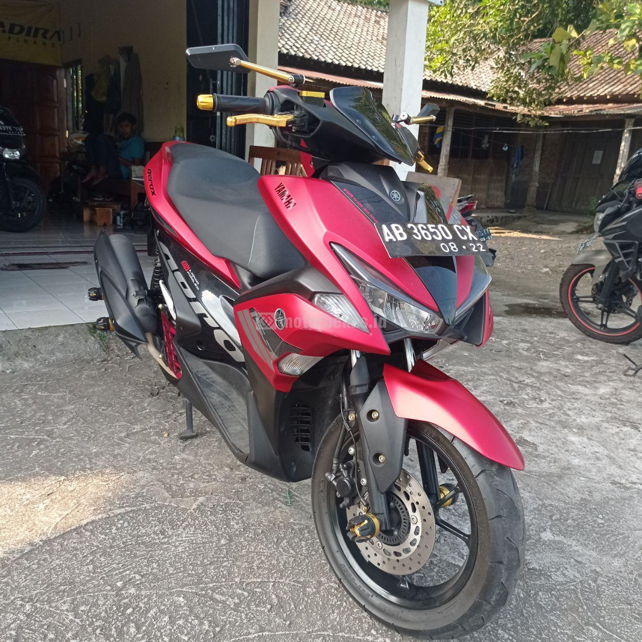 YAMAHA AEROX 155 VVA 691 motorbekas.id