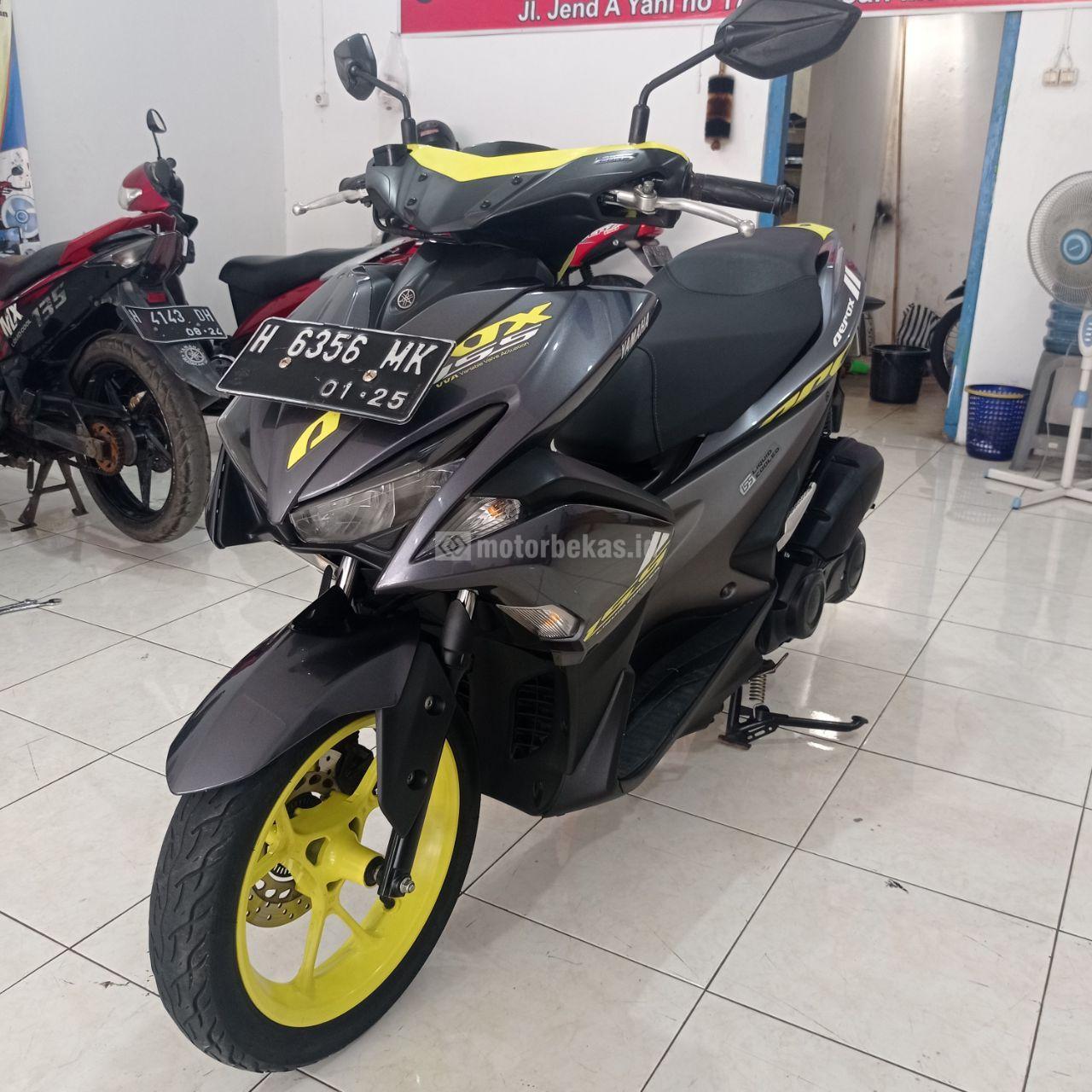 YAMAHA AEROX 155  770 motorbekas.id