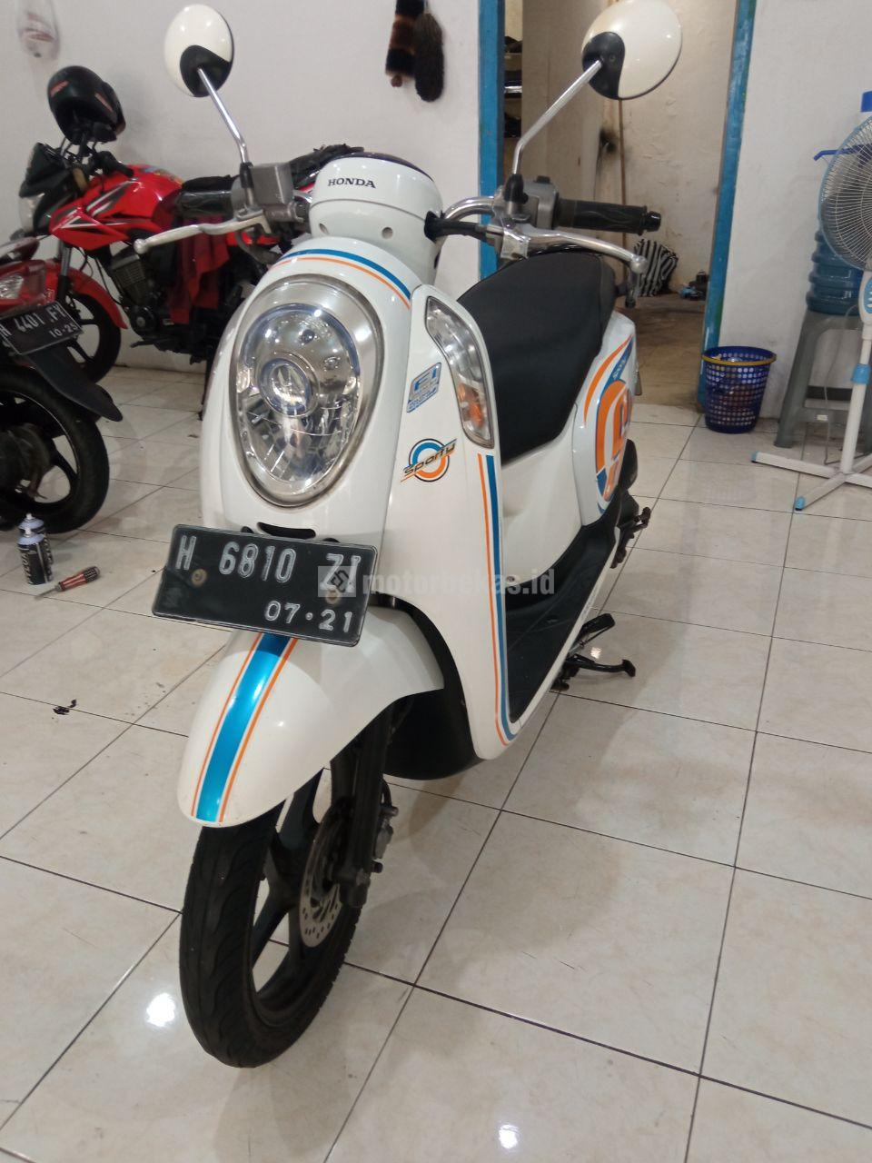 HONDA SCOOPY  1069 motorbekas.id