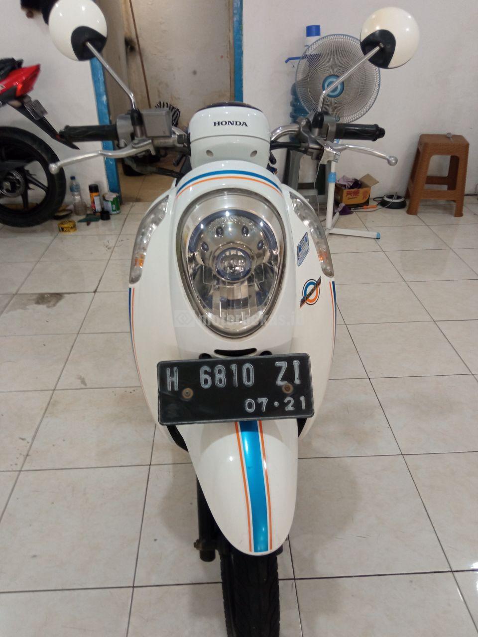 HONDA SCOOPY  1071 motorbekas.id