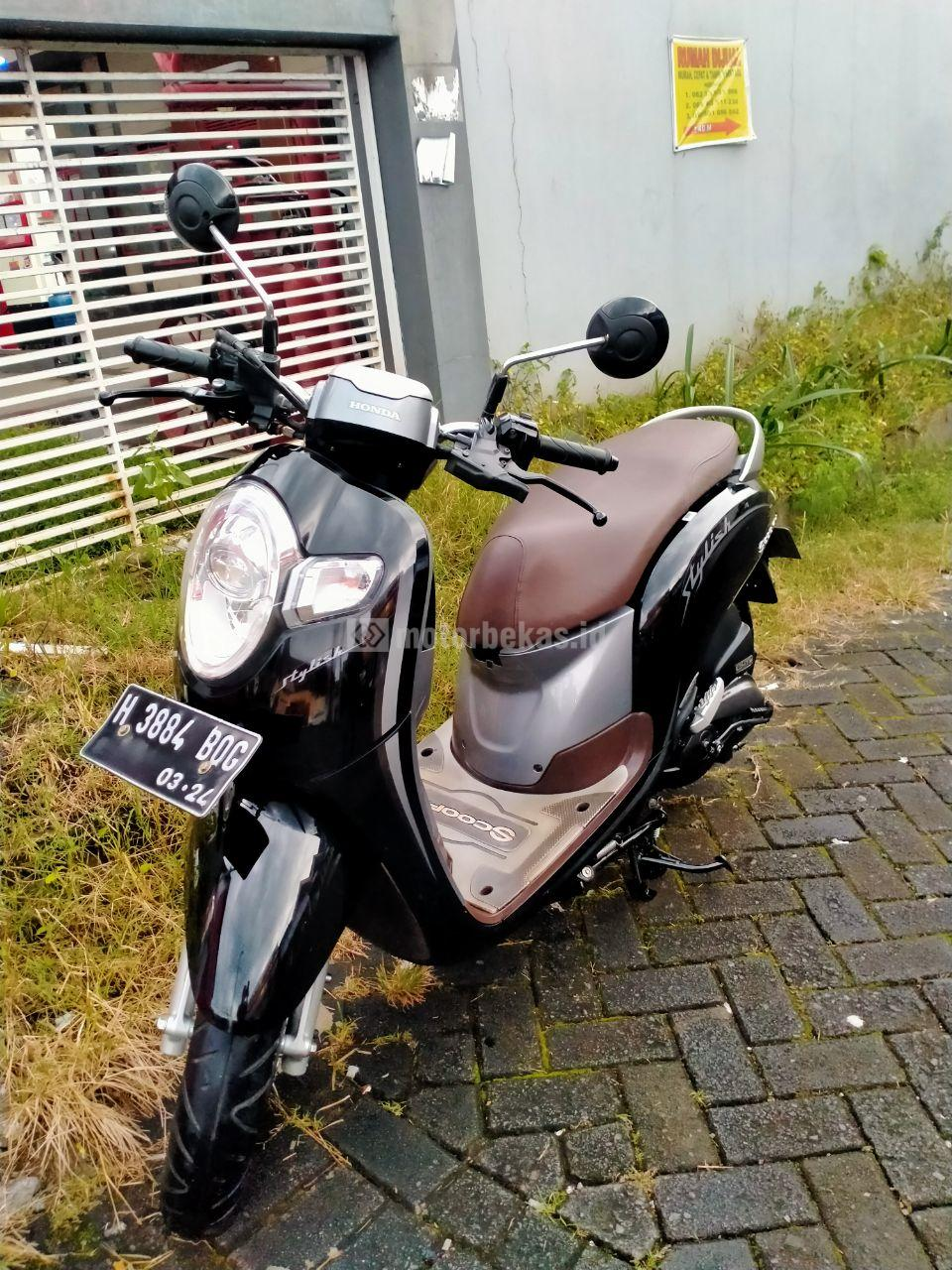 HONDA SCOOPY  1445 motorbekas.id