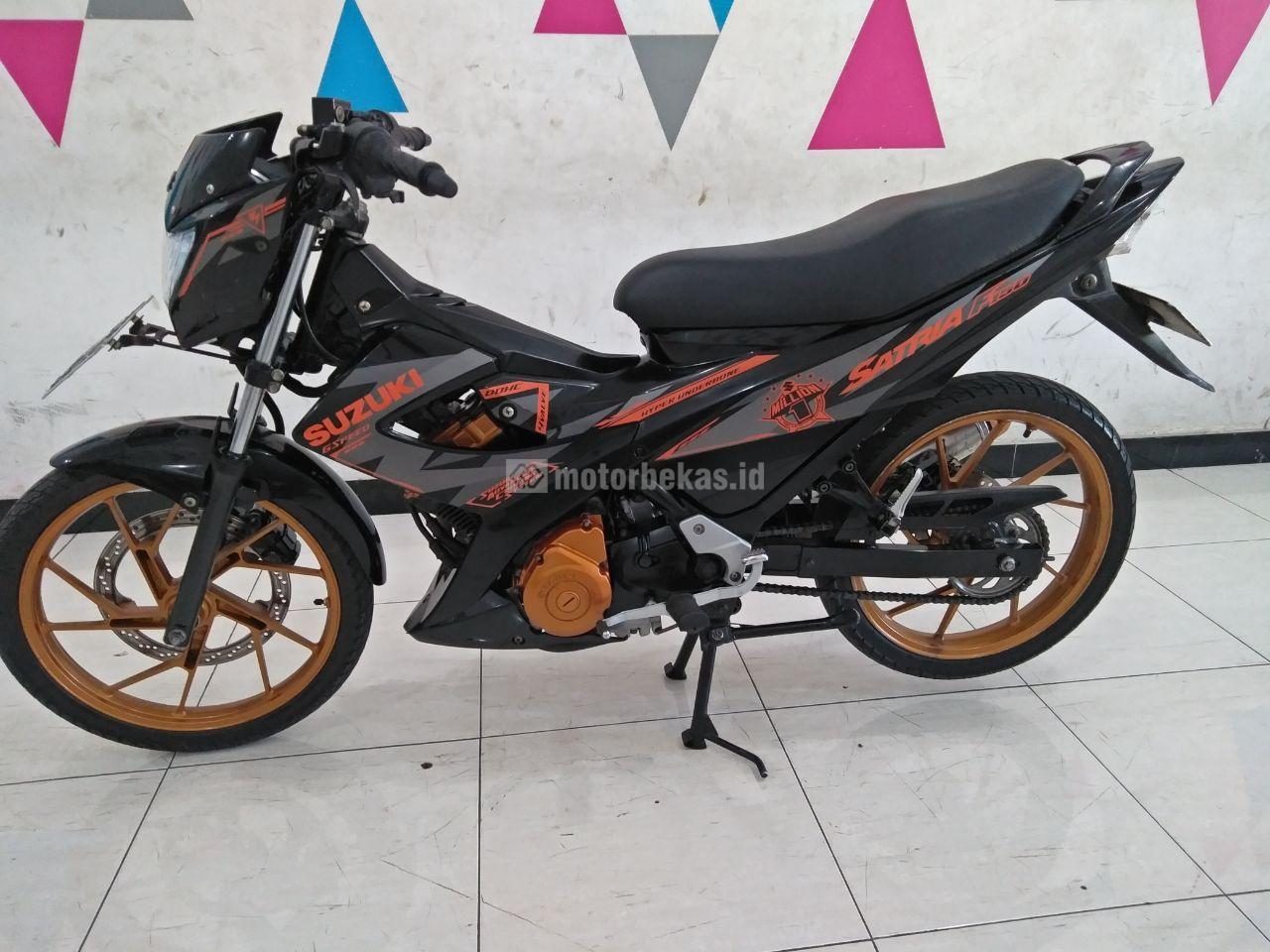 SUZUKI SATRIA 150  3076 motorbekas.id