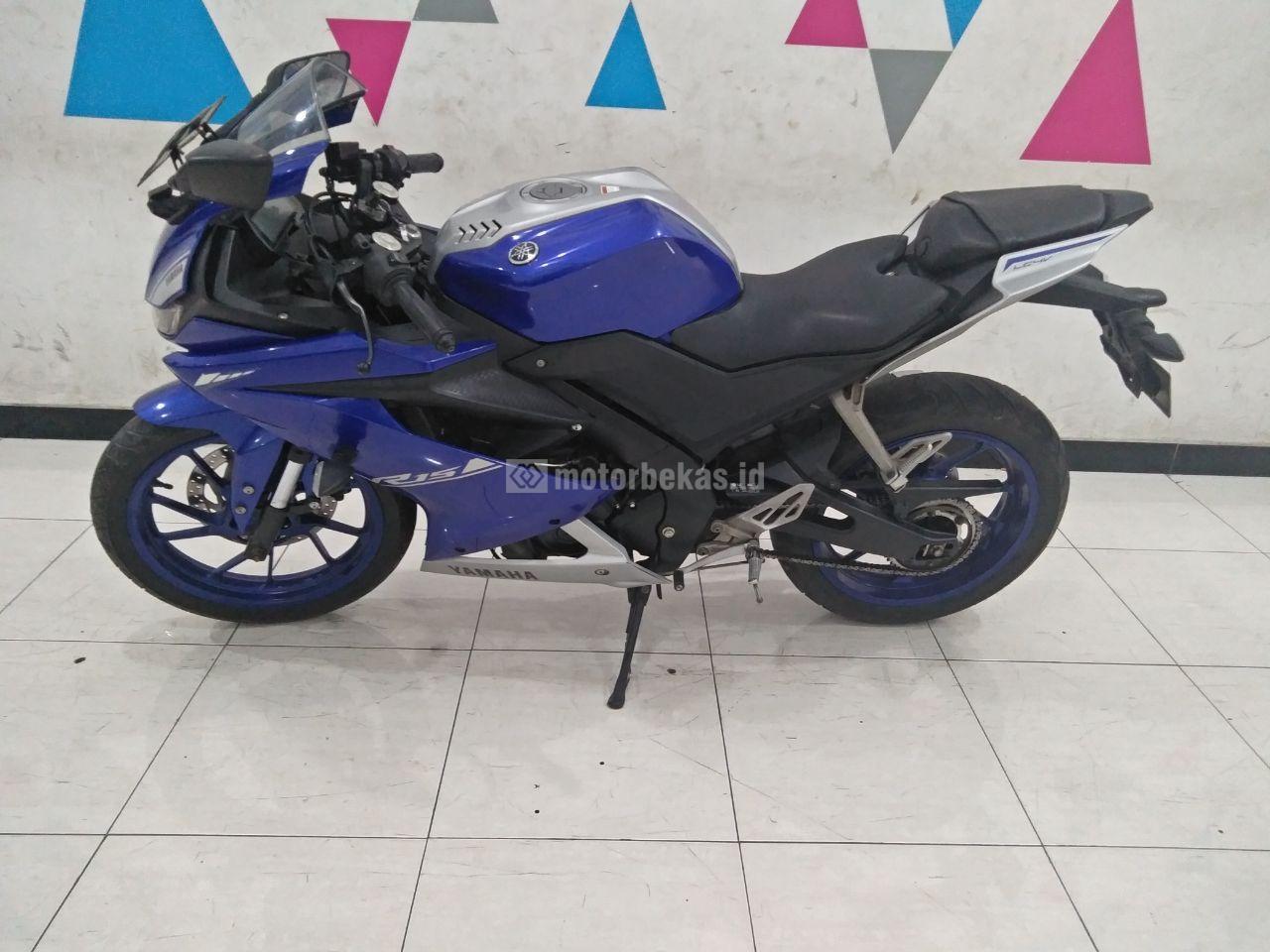 YAMAHA R15 V3 MOVISTAR  3090 motorbekas.id
