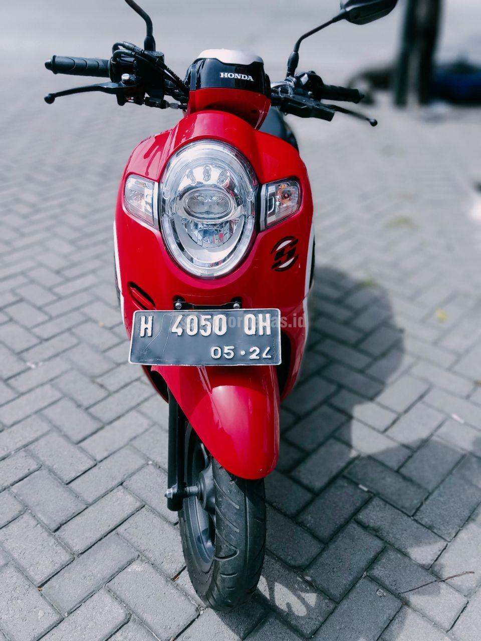 HONDA SCOOPY  3306 motorbekas.id