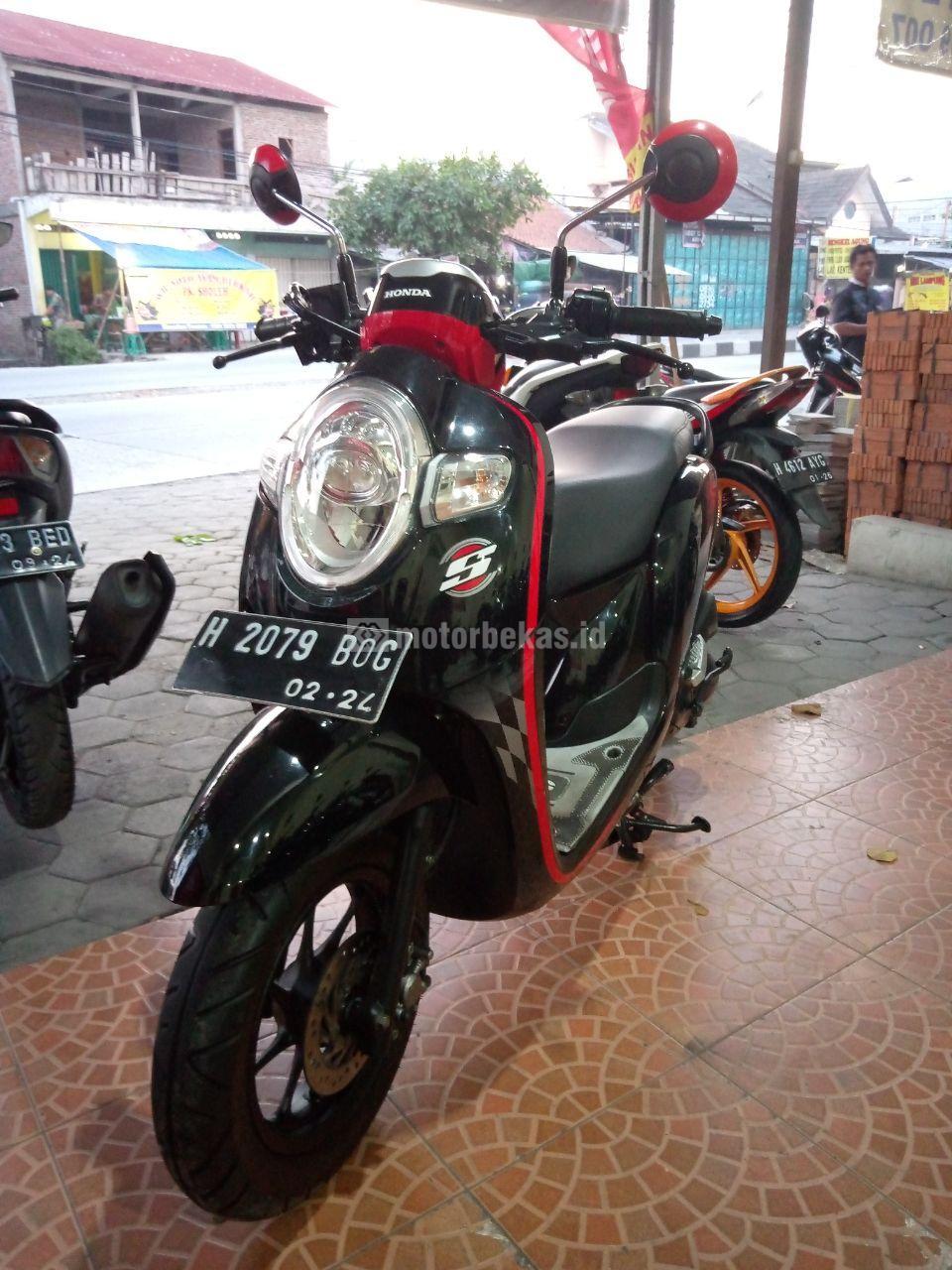 HONDA SCOOPY  3309 motorbekas.id
