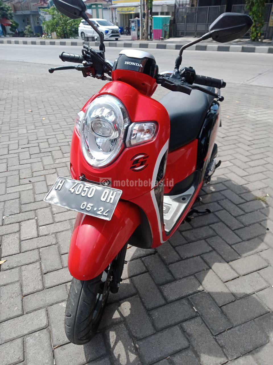 HONDA SCOOPY  3307 motorbekas.id