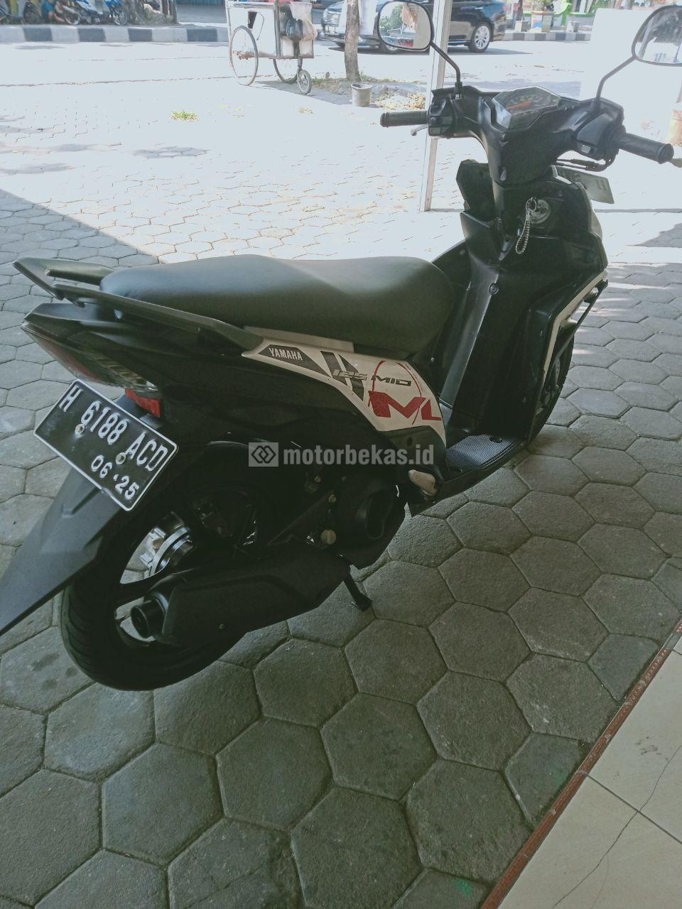 YAMAHA MIO M3 125 FI 2015 motorbekas.id